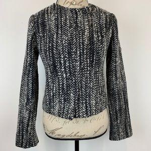 CAbi Wool Tweed Blazer Sz 4